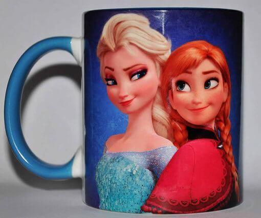 Чашки с героями мультфильмов