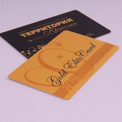 Бонусные-накопительные (дисконтные) пластиковые карты