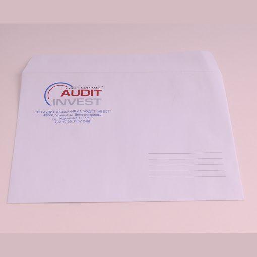 Конверт А5 - формат C5 [Размер: 228х160 мм]