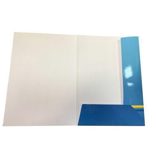 Папки с глянцевым покрытием (глянцевая ламинация)